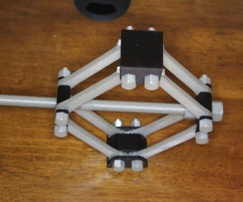 Completely 3D Printed Scissor Jack