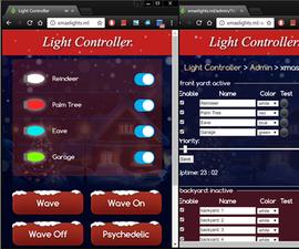 Arduino ESP8266 IoT Light Controller