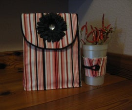 Fabric lunch bag