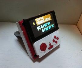 Make a handheld NES. (portable nintendo entertainment system)