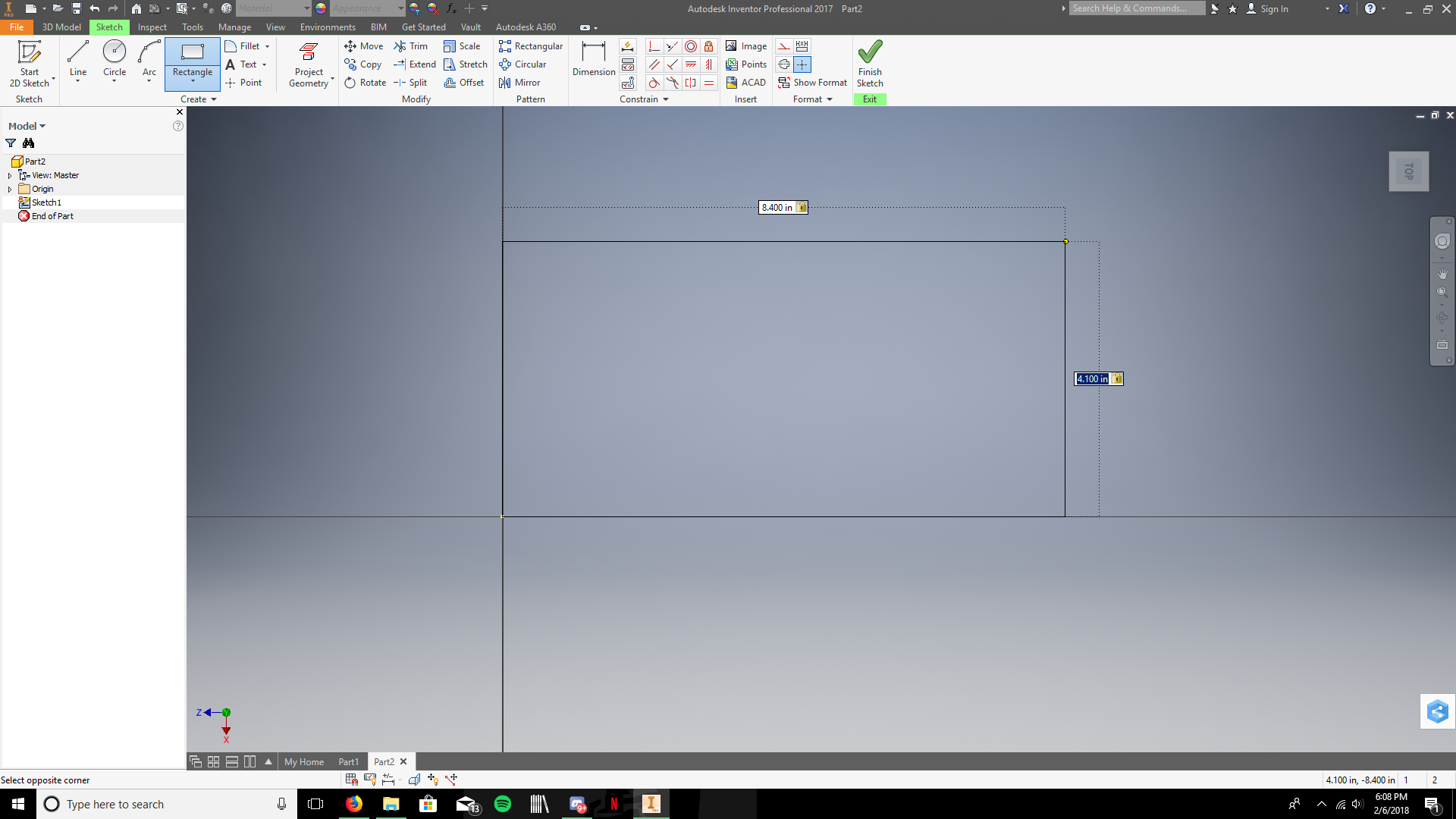 Picture of Create the Rectangular Base