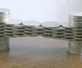 Coin Stacking - 3 Coin Span Bridge and More