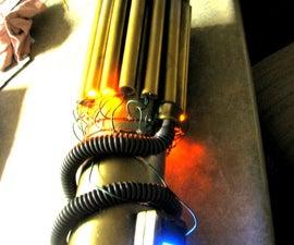 Steampunk Gatling Gun Arm