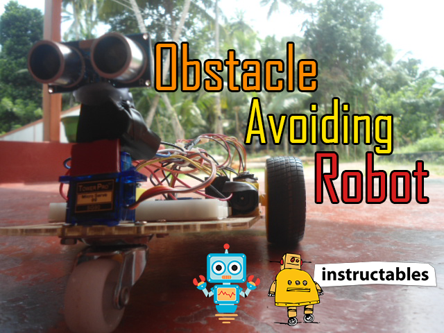 Picture of DIY Obstacle Avoiding Robot