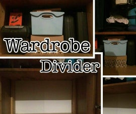 Wardrobe Divider/Shelf