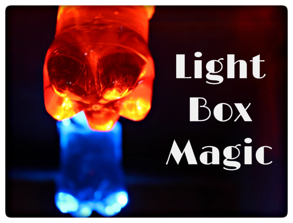Picture of Science Experiment for Kids: Light Box Magic