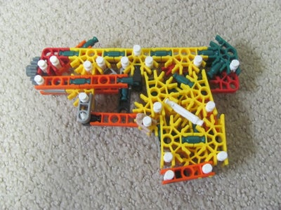 K'nex 9mm Smith and Wesson M&P Shield