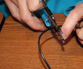 Lengthening a charger cord … to save our car trip