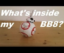 What's Inside My RC Lego BB8?