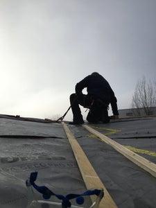 Applying the Metal Roof