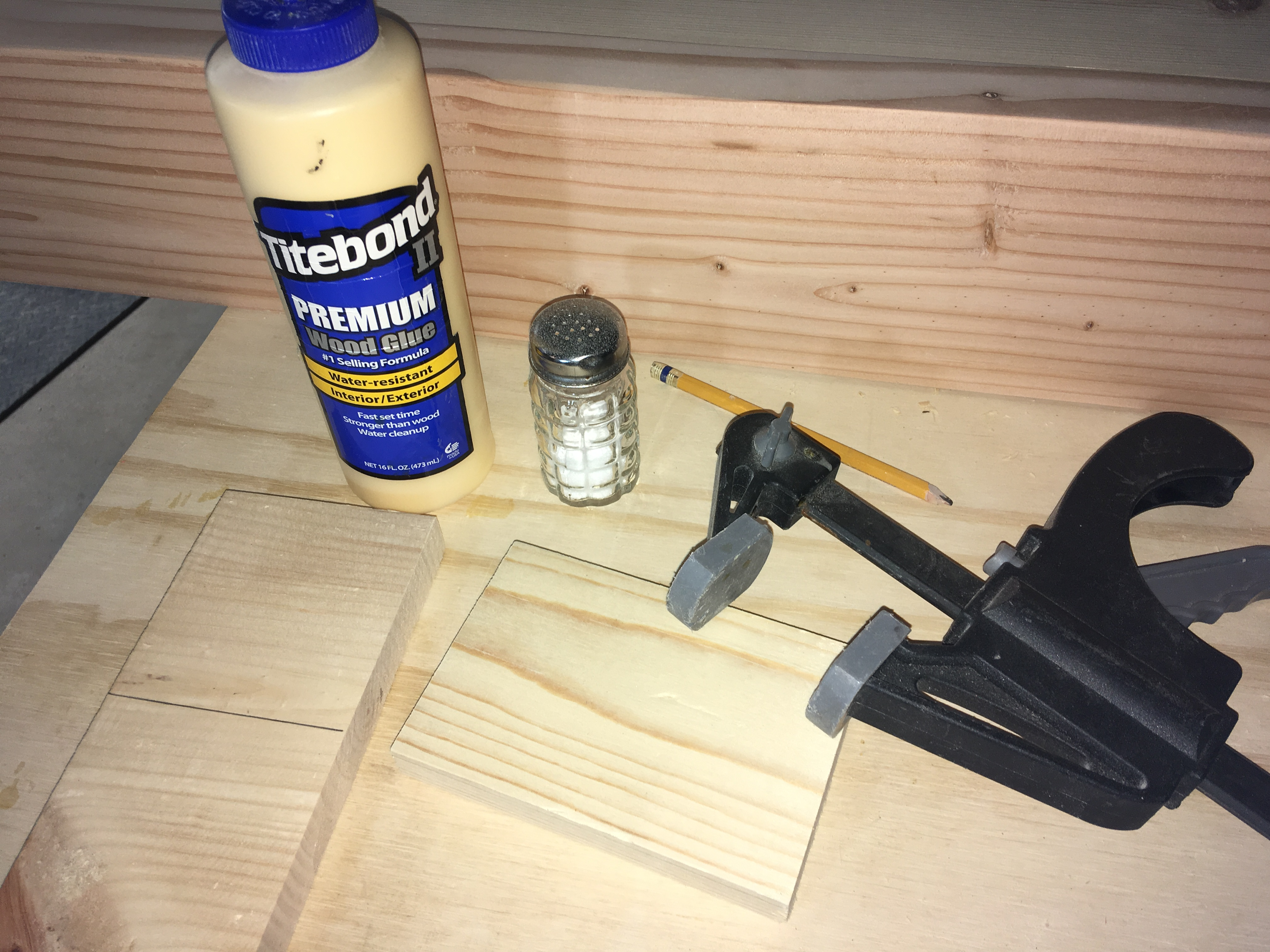 Picture of STOP! Board Slipping While Glueing!