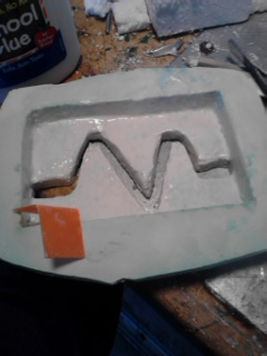 Picture of Making the Mold Smooth and Seep Proof