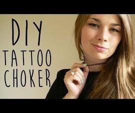 90s Tattoo Choker