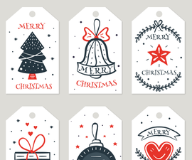 Create Gift Tags at Home by Using Microsoft® Word