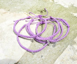 DIY Simple Macrame Bracelet