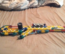 The Lightning II XL KNEX Sniper Rifle