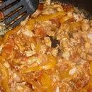 Tilapia in Vegetable Sauce