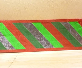 Make Holiday Mats purely of Duct Tape!