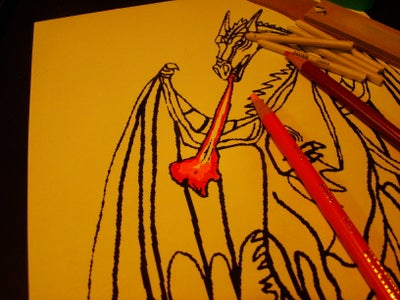 """How to Color a Valentines (or Any Other) Card With """"Gamsol Magic"""""""