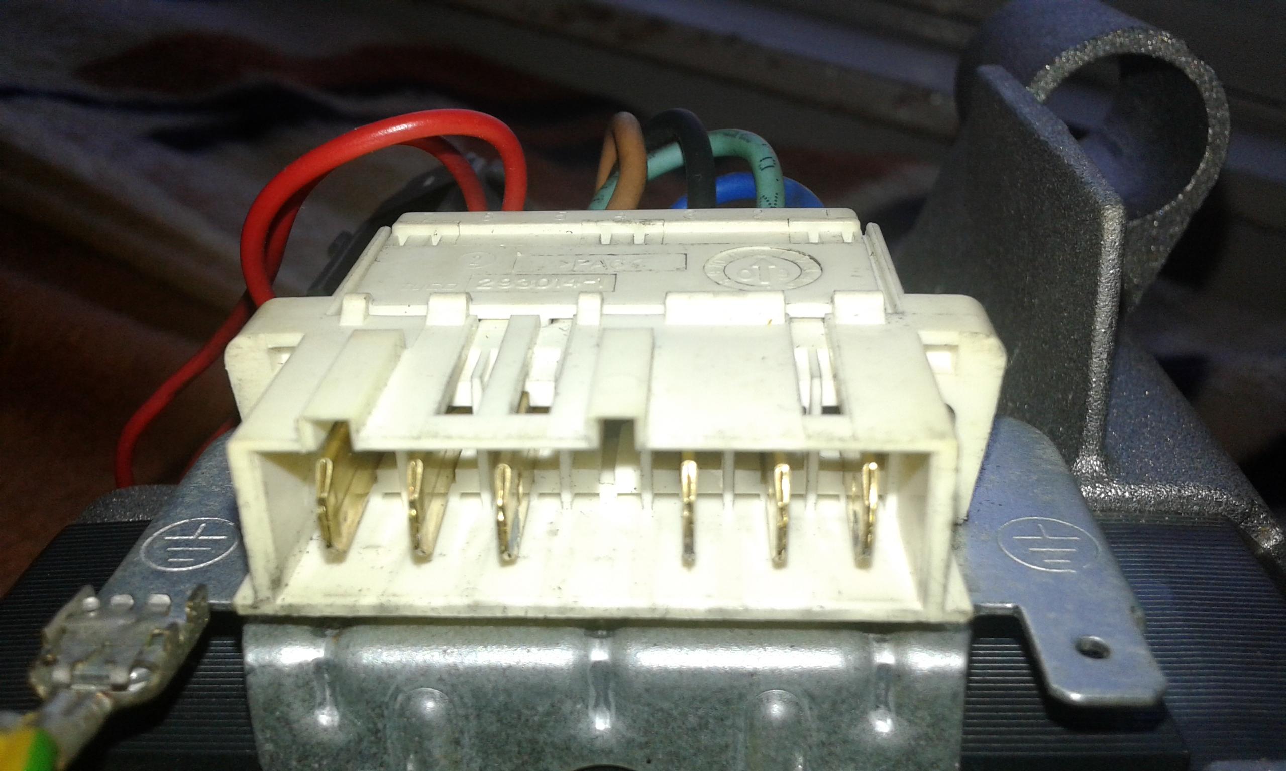 Washing Machine Motor Wiring Diagram   TryboticsTrybotics