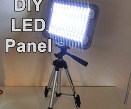 DIY Powerful LED Panel - Video and Work Light