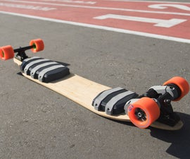 Fusion Board - 3D Printed Electric Skateboard