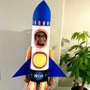 Handmade Rocket Ship Costume