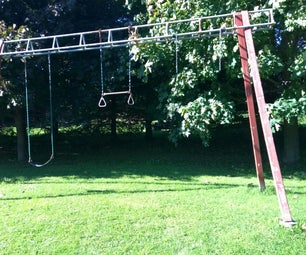 "Swing Set, ""A"" Frame"
