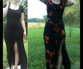 ✌ Bleach Tie-Dye Dress ✌