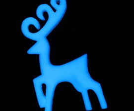 Make Glow in the Dark Christmas Ornaments with Resin