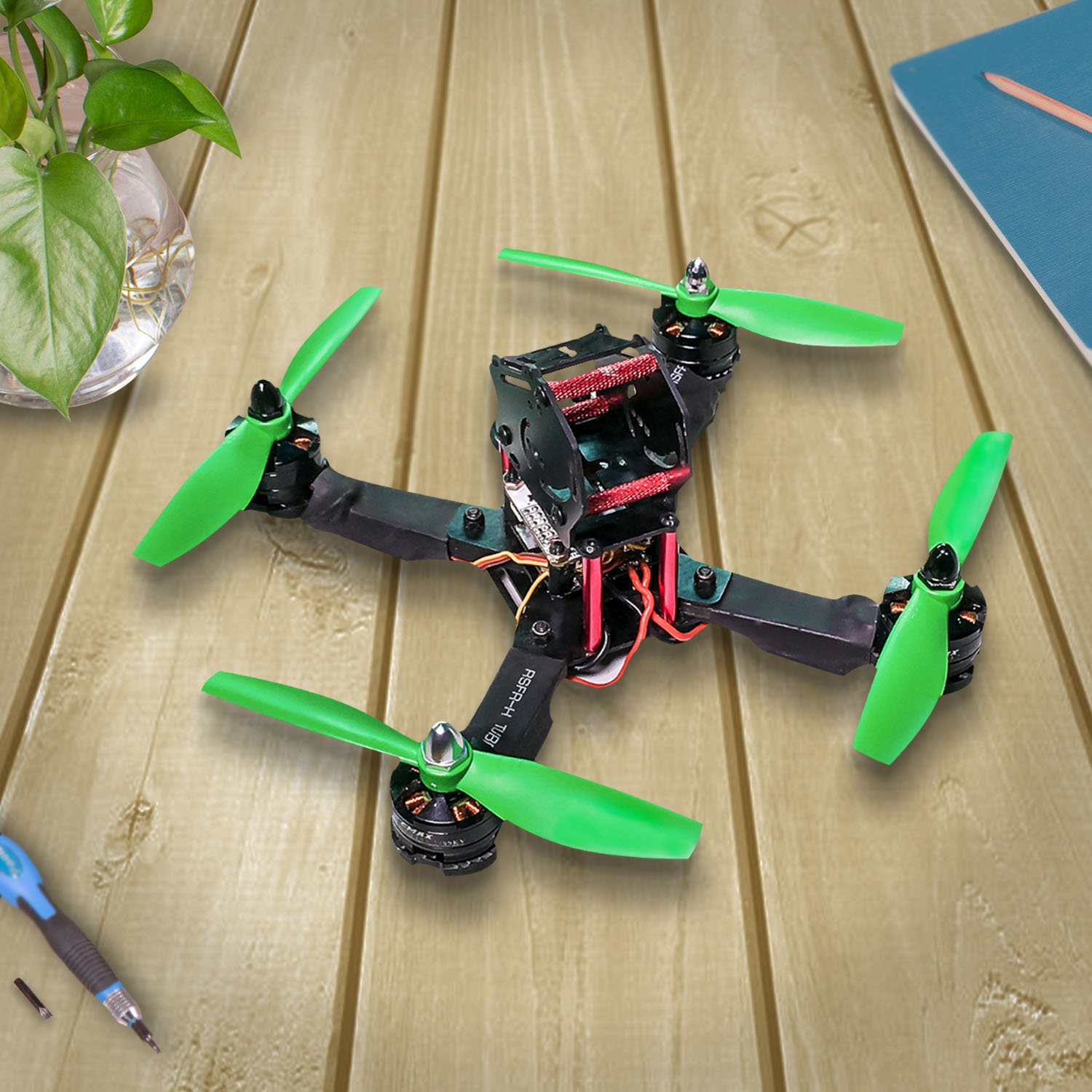 Picture of How to Mount CC3D Flight Controller to Quadcopter (Assembly, Wiring, Software Configuration)