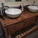 Rustic Farmhouse Style Vanity
