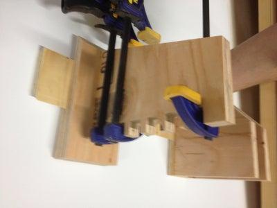 Quick Grip Clamp Rack