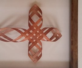 Woven Wood Cross in Time for Easter