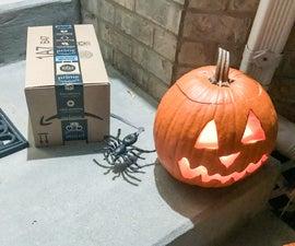 Arduino Automated Spider Prank
