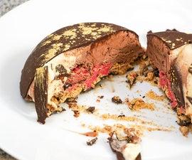 Frozen Ice-Cream Bombe! | Easy Recipe for an Impressive Dessert | Chocolate Covered Tartufo