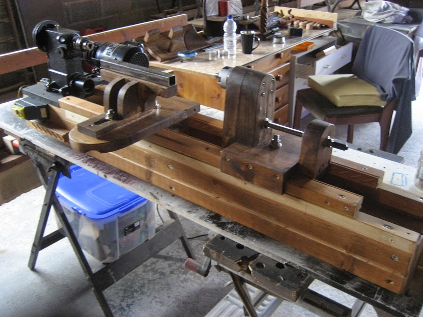 Picture of Homemade Woodworking Lathe