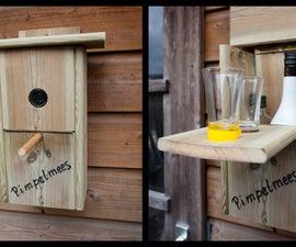 Building secret 'drinking' nest box