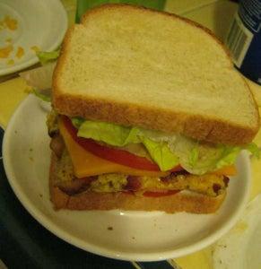 Square Breakfast Sandwich