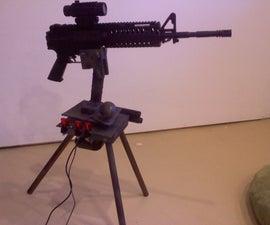 Autonomous Paintball Sentry Gun