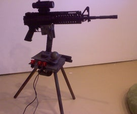 Autonomous Paintball Sentry Gun