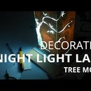 Crafts and Decoration: Night Light Lamp (Tree Model)