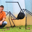 The Huge Black Spider
