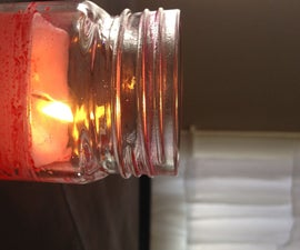 Simple Scented Candle by Microwave