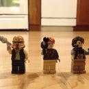 Three Epic Star Wars Minifigures (Custom Made!)
