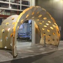 Design and Fabrication of a Bending-Active Pavilion