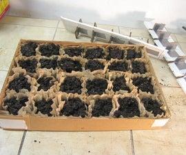 Nursery/Hothouse Seedling Starter Tray