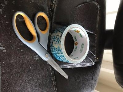 Reupholster Using Duck Tape!