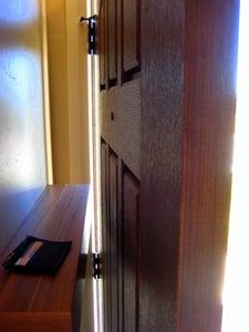 Behind the Door Coat Hanger/Shelf