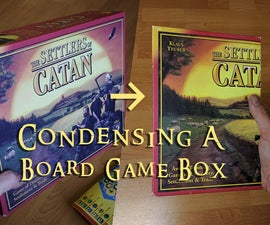 Condense a Board Game Box